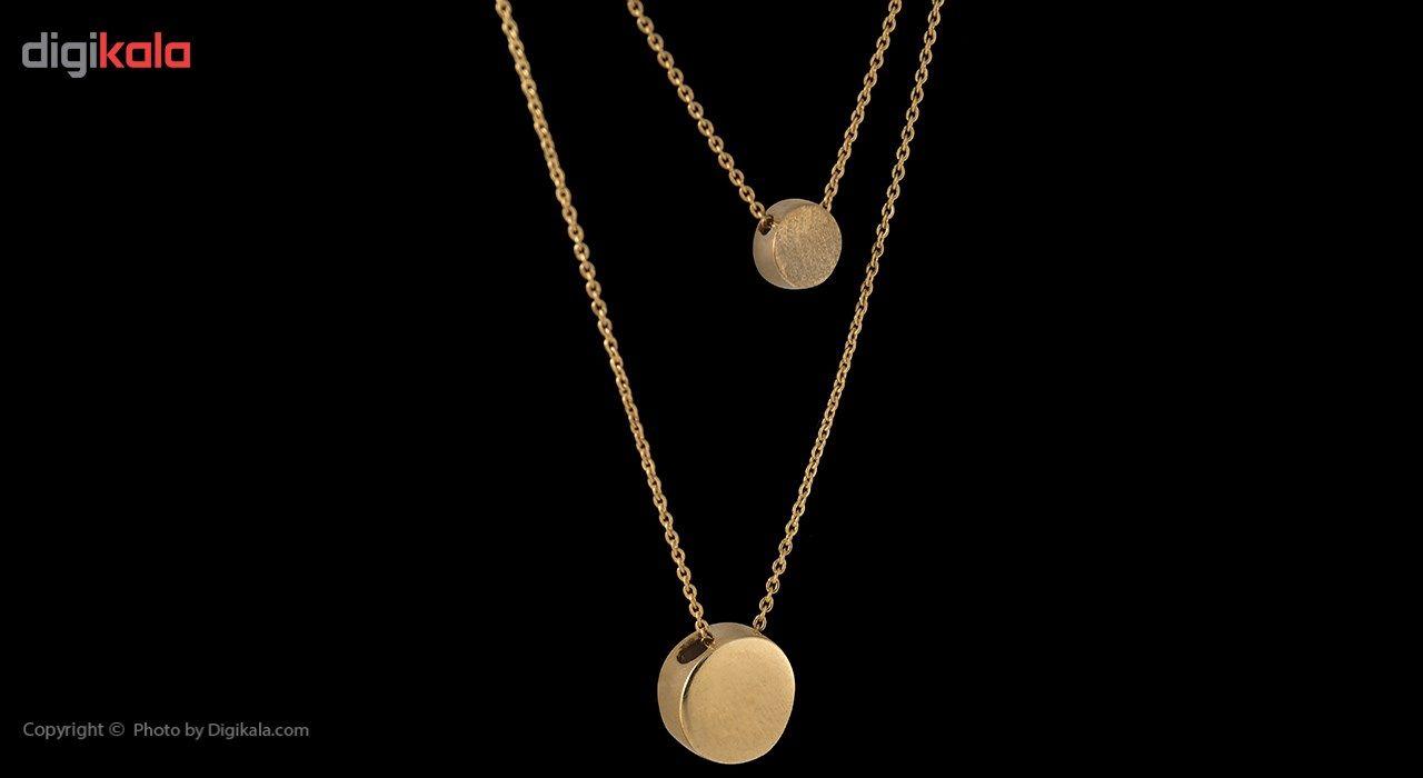گردنبند طلا 18 عیار ماهک مدل MM0396 -  - 2