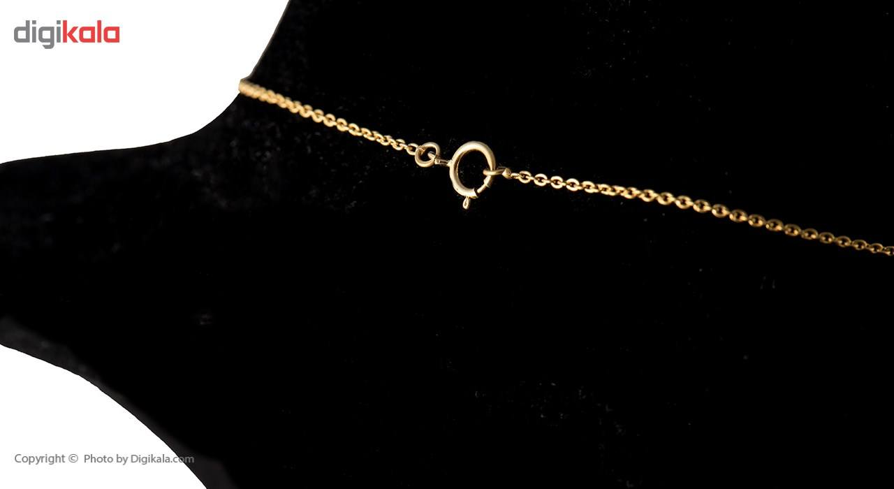 گردنبند طلا 18 عیار ماهک مدل MM0396 -  - 4