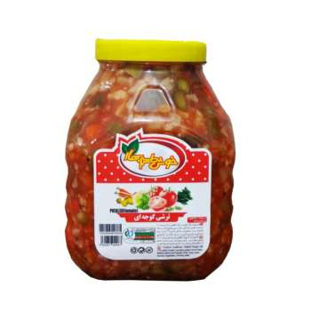 ترشی گوجه ای  خوش طعم بهار - 2.5 کیلوگرم