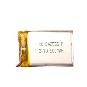 باتری لیتیوم یون مدل d-500 ظرقیت 500 میلی آمپر ساعت