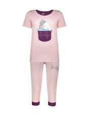 ست تی شرت و شلوارک راحتی زنانه مادر مدل 2041102-84 -  - 1