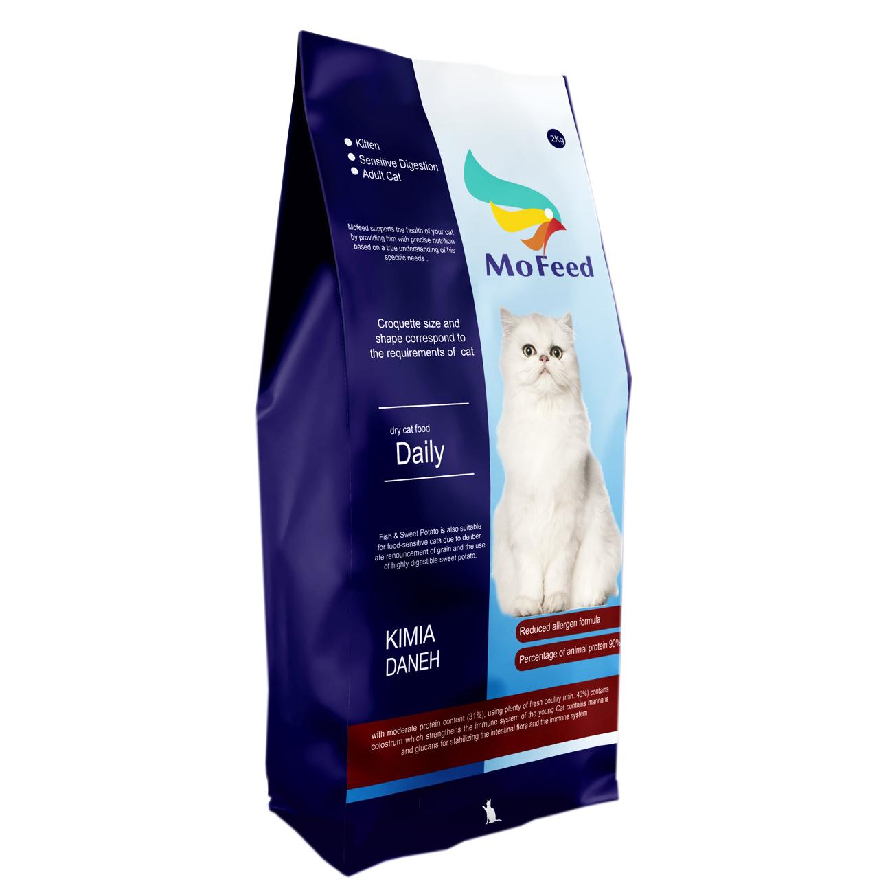 غذای خشک گربه مفید مدل TEH-ADULT1400 وزن 2 کیلوگرم