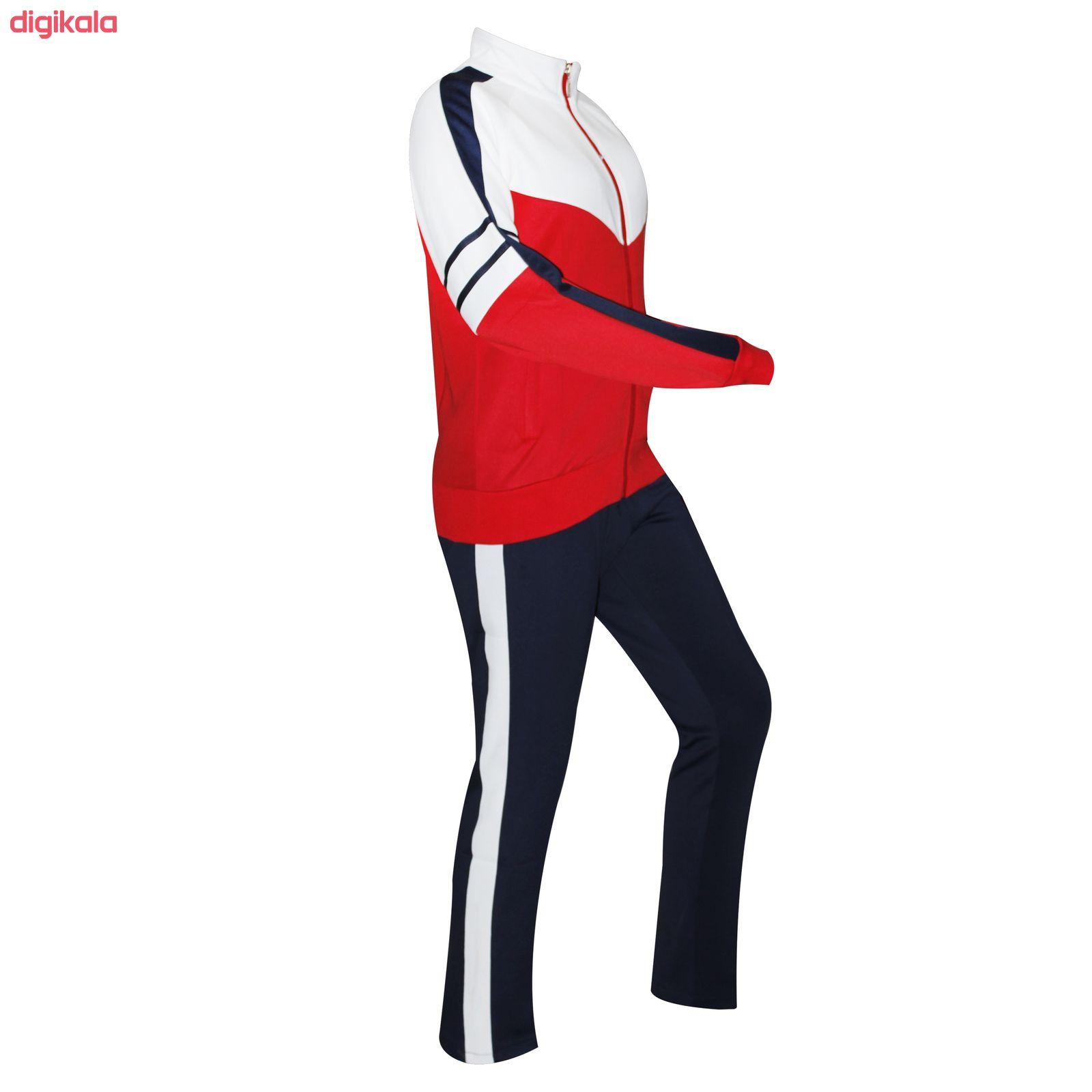 ست گرمکن و شلوار ورزشی زنانه مدل 005 main 1 1