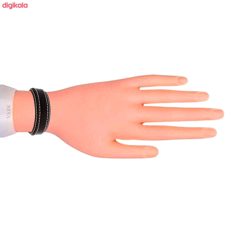دستبند چرم وارک مدل رهام کد rb207 main 1 6