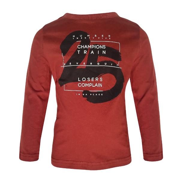تی شرت آستین بلند پسرانه کیابی کد 10058