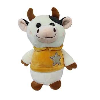 عروسک طرح گاو مدل ستاره ارتفاع 45 سانتی متر
