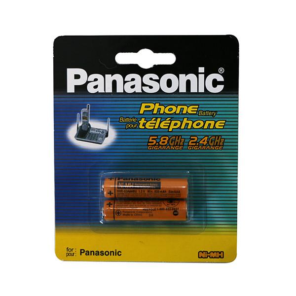 باتری نیم قلمی پاناسونیک مدل NI-MH بسته دو عددی