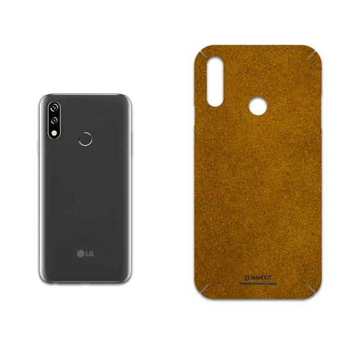 برچسب پوششی ماهوت مدل Brown-Chamois-Leather مناسب برای گوشی موبایل ال جی W10