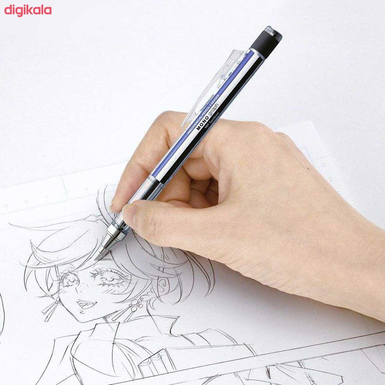 مداد نوکی 0.5 میلی متری تومبو مدل MONO GRAPPH main 1 22