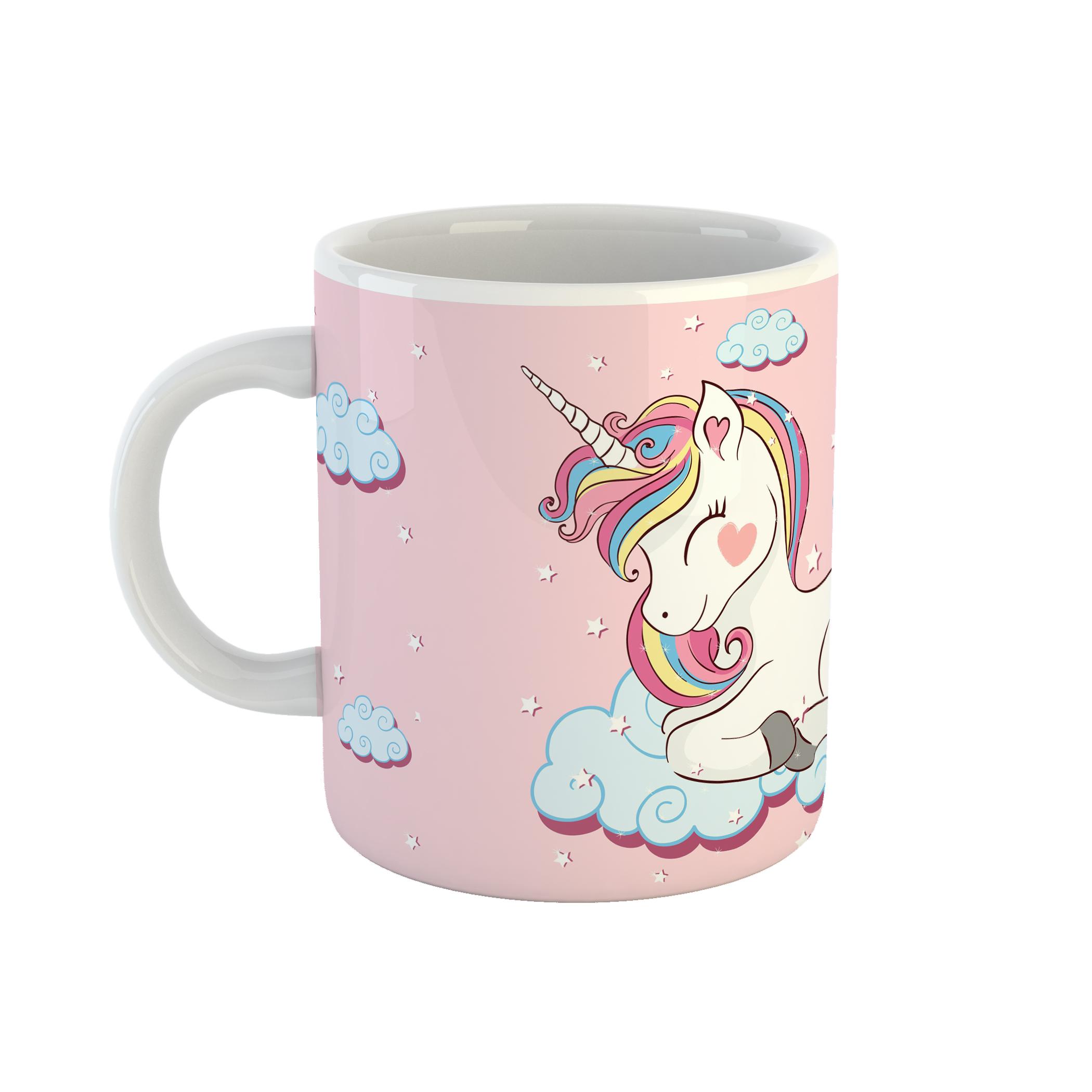 ماگ طرح اسب تکشاخ مدل unicorn کد 11