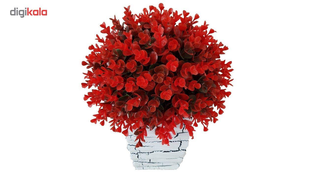 گلدان سفالی به همراه گل مصنوعی بخشی مدل SH2030 main 1 11