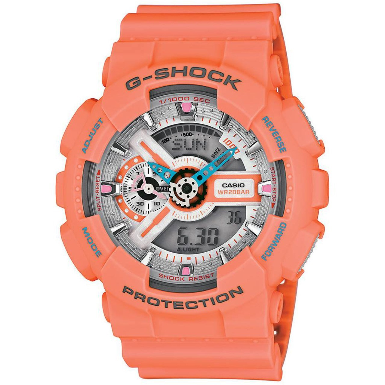 ساعت مچی دیجیتال مردانه کاسیو مدل G-Shock GA-110DN-4ADR