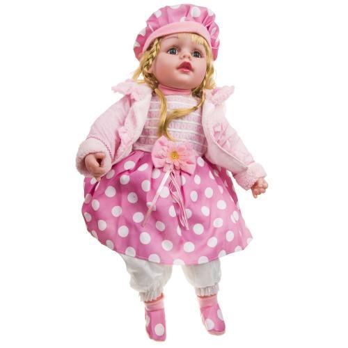 عروسک سخنگو مدل Doted Skirt ارتفاع 54 سانتی متر