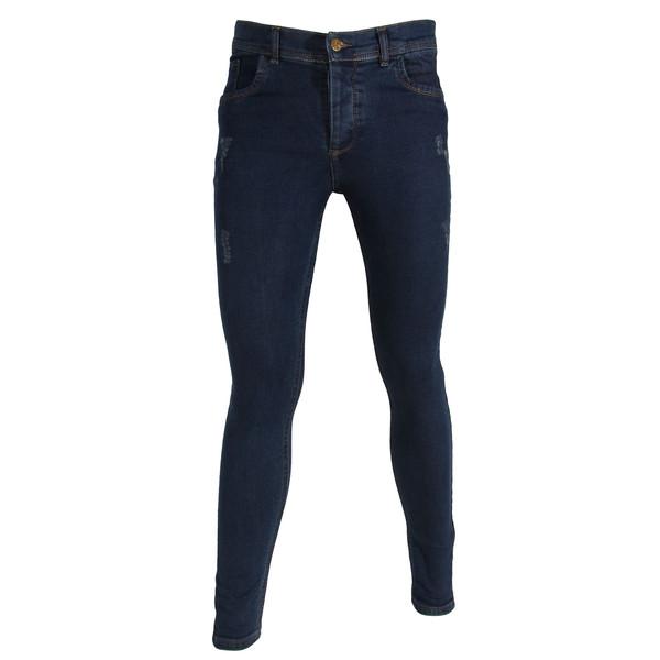 شلوار جین مردانه مدل براندینو کد 1414 رنگ سرمه ای
