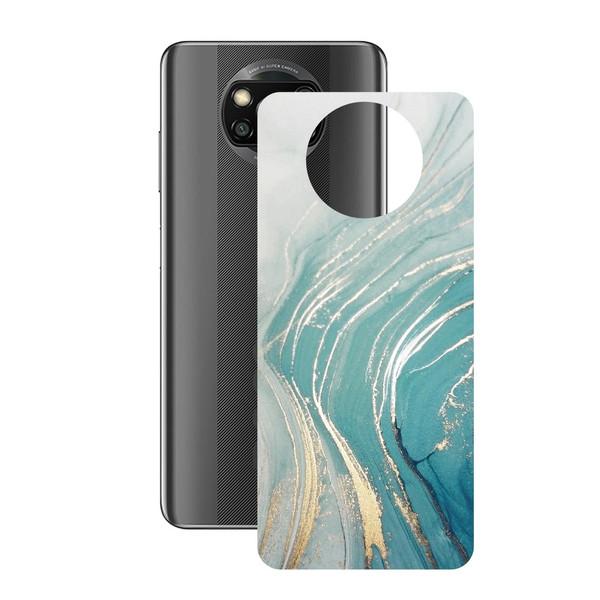 برچسب پوششی راک اسپیس طرح Marble-GN مناسب برای گوشی موبایل شیائومی POCO X3 Pro