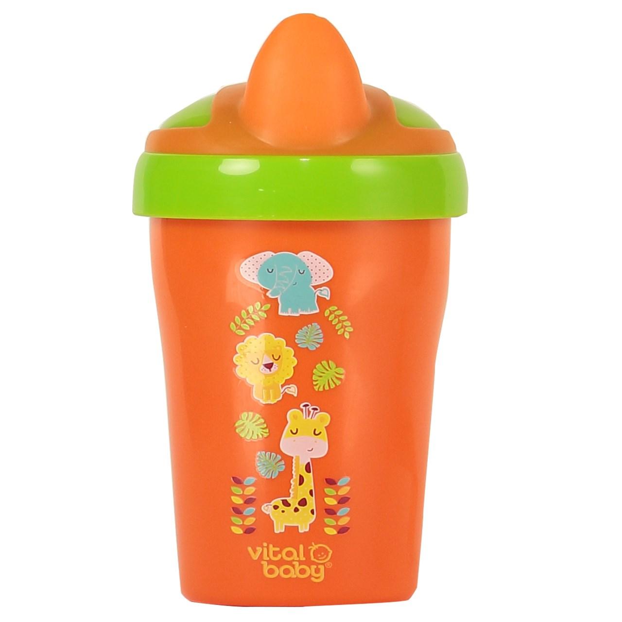آبمیوه خوری ویتال بیبی مدل Soft Toddler Trainer Cup