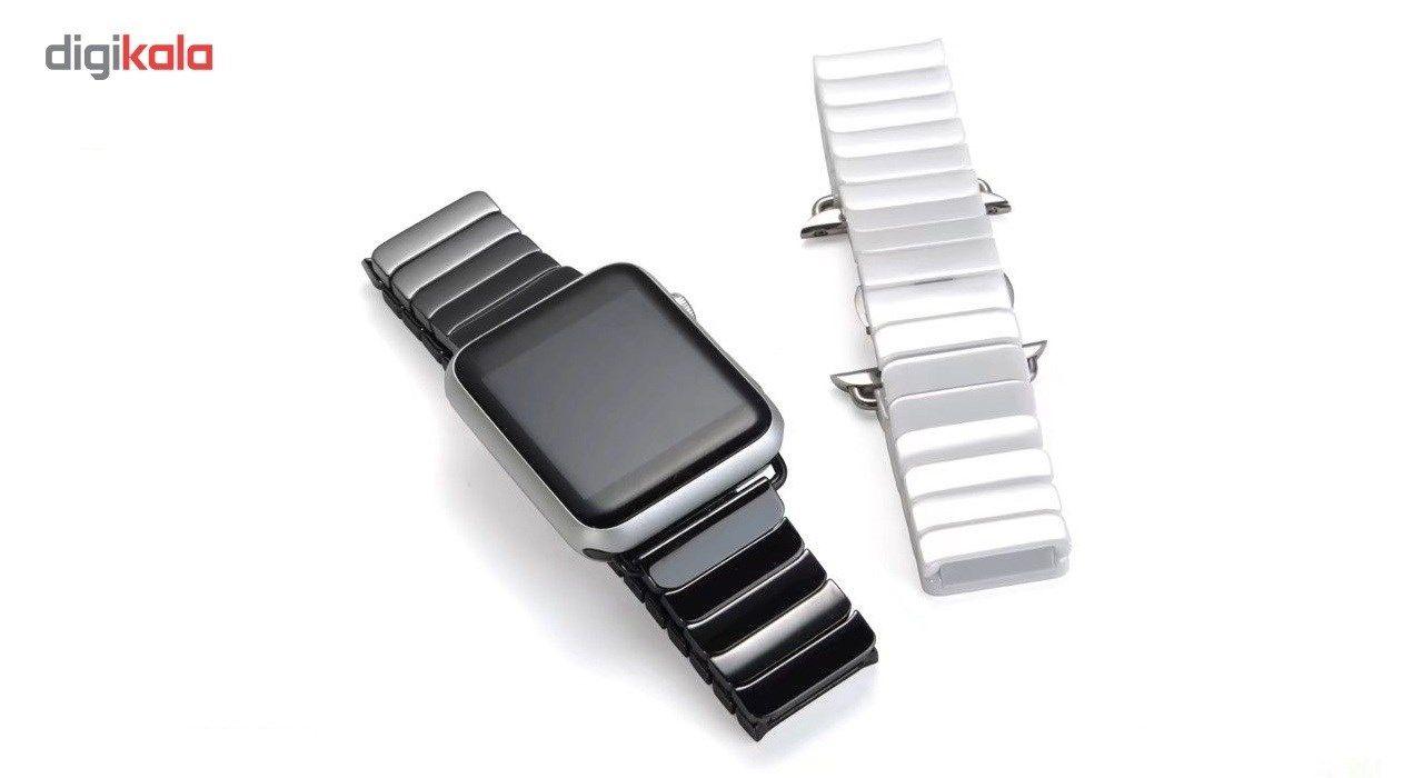 بند سرامیکی Apple watch مدل  One Bead مناسب برای اپل واچ 42 میلی متری main 1 2