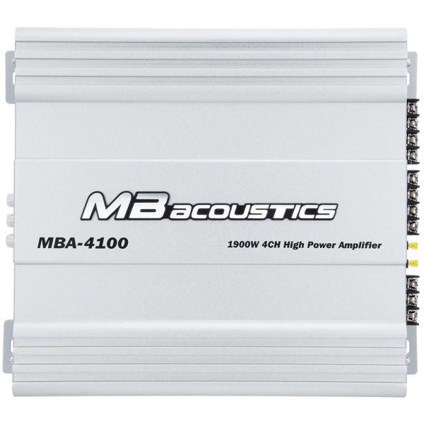 آمپلی فایر خودرو ام بی آکوستیکس مدل MBA-4100