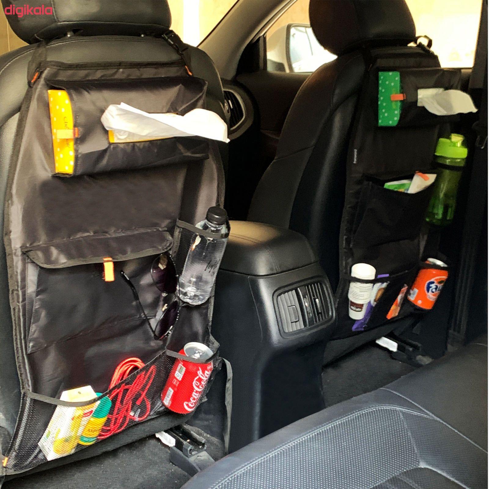 کیف پشت صندلی خودرو مدل F1مجموعه دو عددی main 1 2