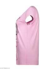 ست تی شرت و شلوار زنانه فمیلی ور طرح دختر کد 0222 رنگ صورتی -  - 8