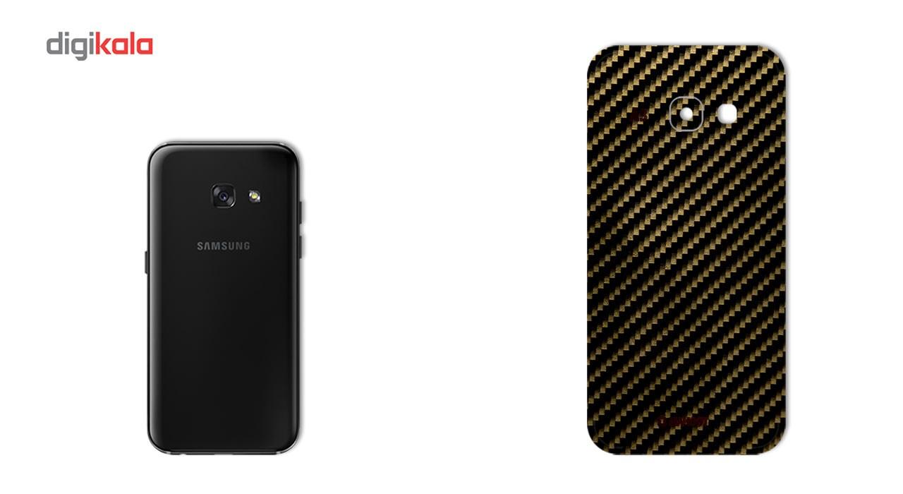 برچسب پوششی ماهوت مدل Shine-carbon Special مناسب برای گوشی  Samsung A3 2017 thumb 2 2