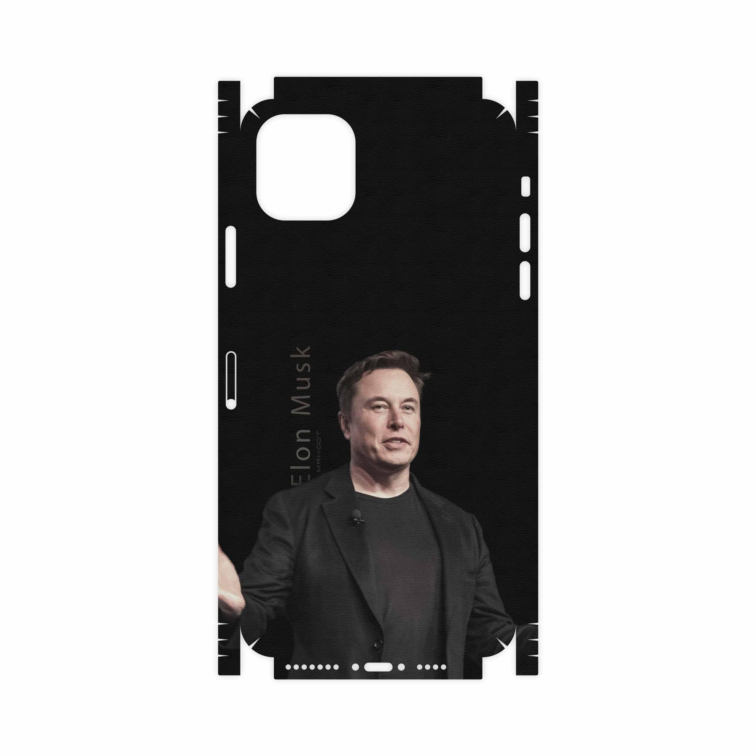 برچسب پوششی ماهوت مدل Elon Musk-FullSkin مناسب برای گوشی موبایل اپل iPhone 11 Pro Max