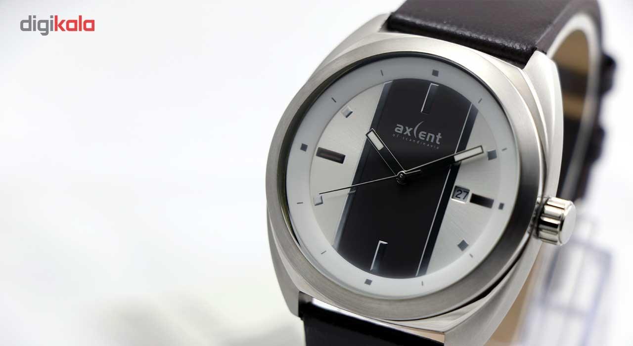 خرید ساعت مچی عقربه ای مردانه اکسنت مدلix56504-636