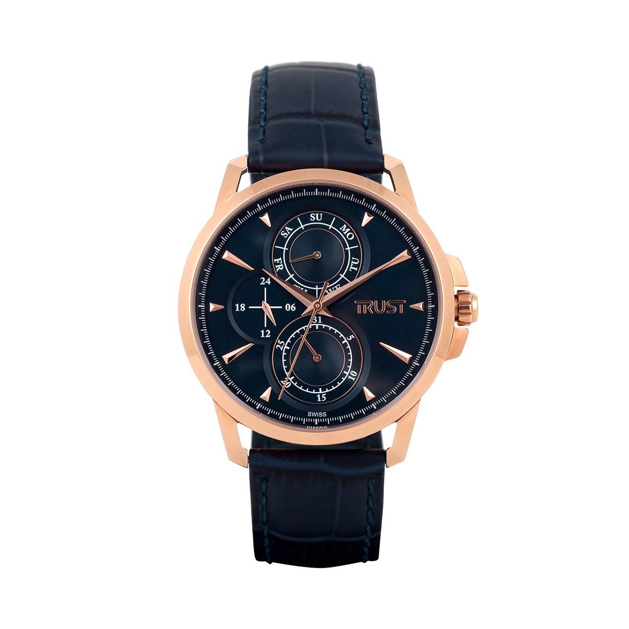 قیمت و خرید                      ساعت مچی عقربه ای مردانه تراست مدل G453CSG