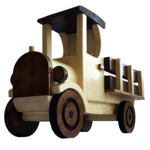 اسباب بازی چوبی مدل کامیون کلاسیک کد NTC1
