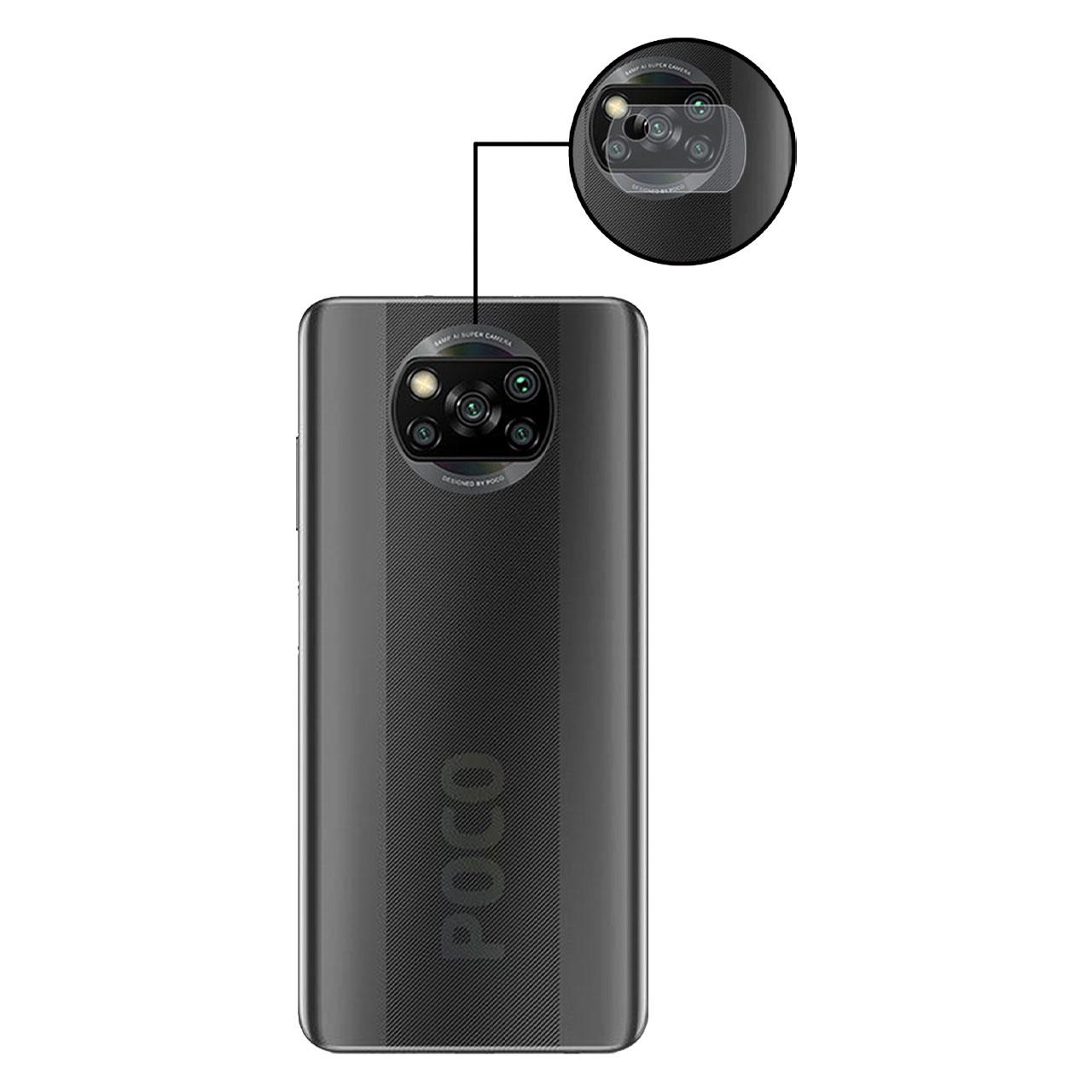 خرید اینترنتی [با تخفیف] محافظ لنز دوربین مدل LENS-G مناسب برای گوشی موبایل شیائومی Poco X3 اورجینال