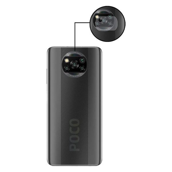 محافظ لنز دوربین مدل LENS-G مناسب برای گوشی موبایل شیائومی Poco X3