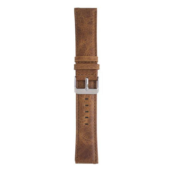 بند چرمی ساعت هوشمند مدل Leather Band مناسب برای Gear S3