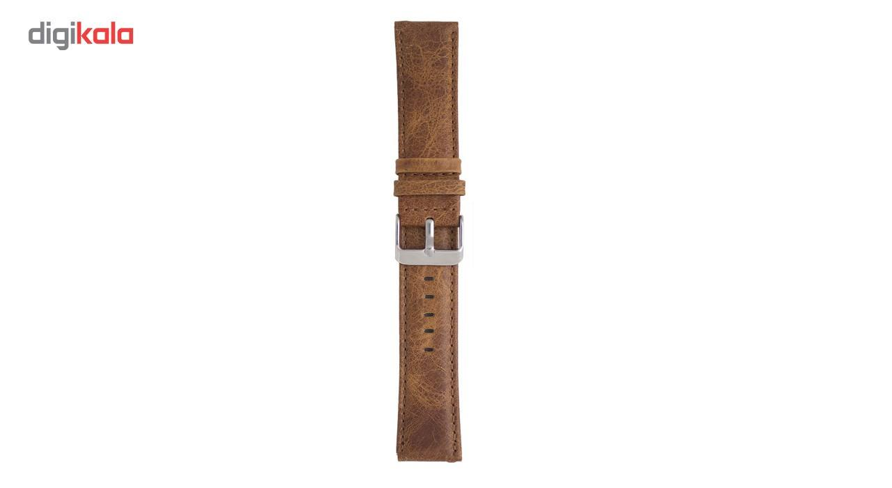 بند چرمی ساعت هوشمند مدل Leather Band مناسب برای Gear S3 main 1 1