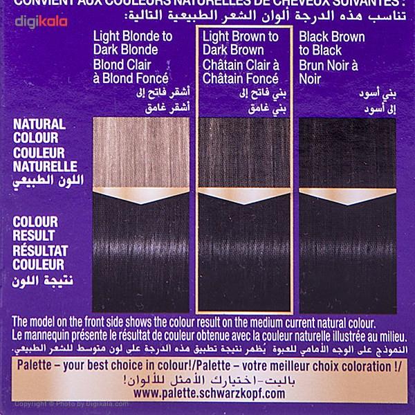 کیت رنگ مو پلت سری Intensive Colour Cream مدل Black شماره 0-1