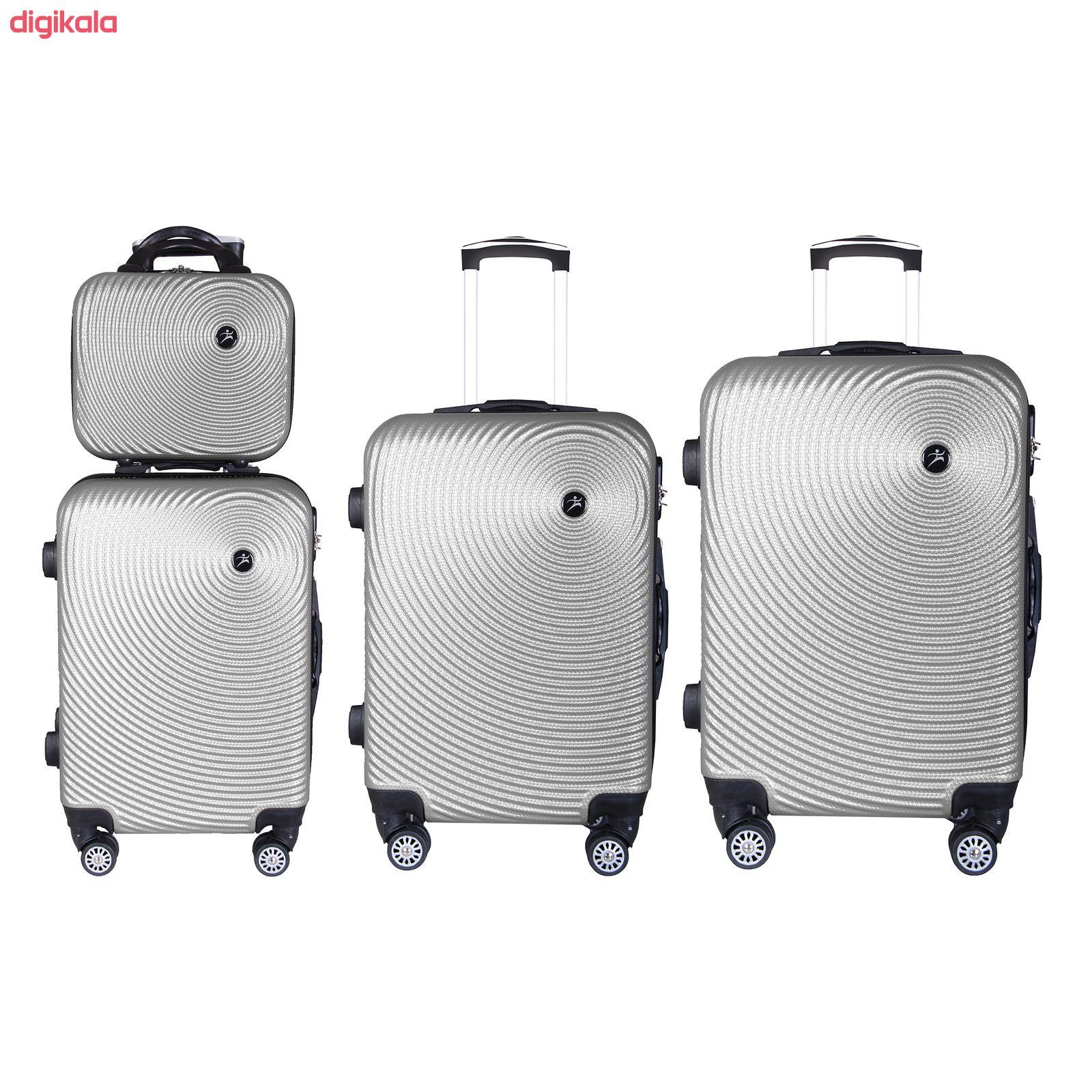مجموعه چهار عددی چمدان اسپرت من مدل NS001 main 1 4