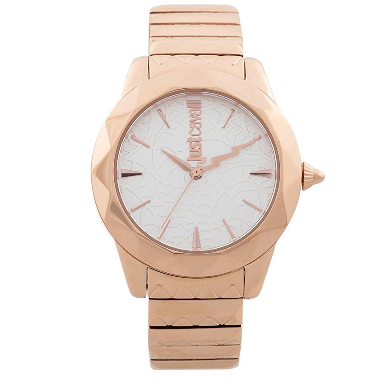 ساعت مچی عقربه ای زنانه جاست کاوالی مدل JC1L003M0085 45