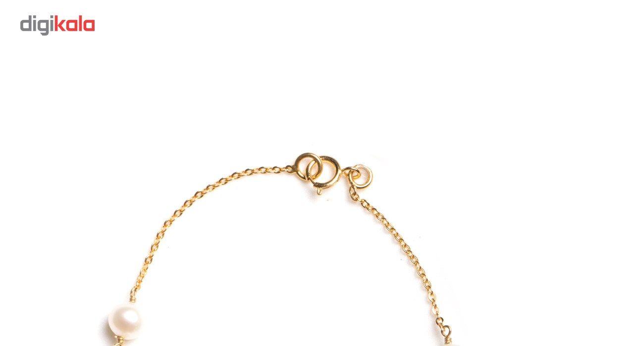 دستبند طلا 18 عیار گرامی گالری مدل B241 -  - 2