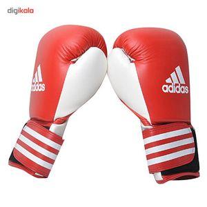 دستکش بوکس آدیداس مدل Competition کد ADIBC02 سایز 14 اونس  Adidas Competition Boxing Gloves ADIBC0