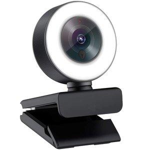 وب کم مدل Livestream with Ring Light