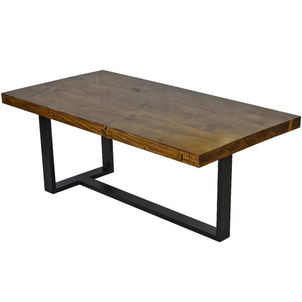 میز جلو مبلی مدل روستیک کد 03