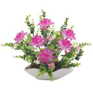 گلدان سرامیک و گل های کریستال دست ساز کیدتونز کدKSH-023