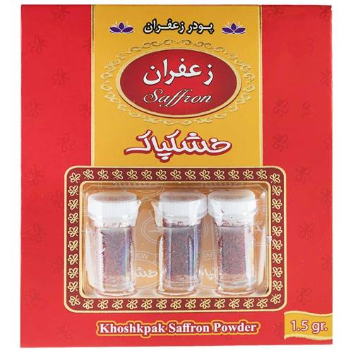 زعفران خشکپاک مقدار 1.5 گرم