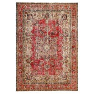فرش دستبافت قدیمی هشت و نیم متری مدل وینتیج کد A2051