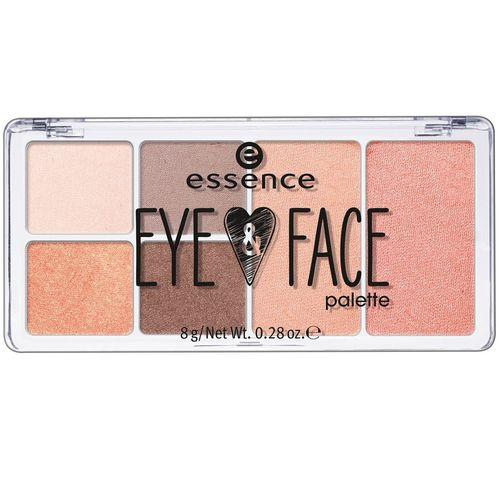 سایه چشم اسنس مدل Eye And Face Palette شماره 02
