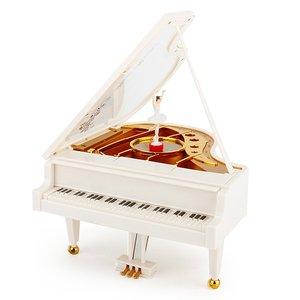 جعبه موزیکال مدل پیانو کد 2042