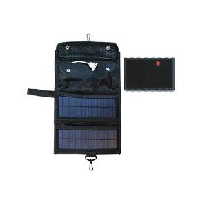 پاوربانک خورشیدی مدل CK7W ظرفیت 15000میلی آمپرساعت
