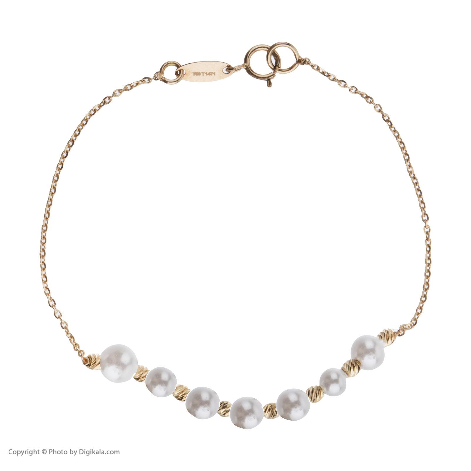 دستبند طلا 18 عیار زنانه سیودو مدل 144831 -  - 3