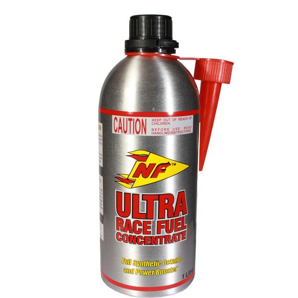 مکمل سوخت خودرو ان اف مدل Ultra Race تغلیظ شده بنزین مسابقه حجم 1000 میلی لیتر