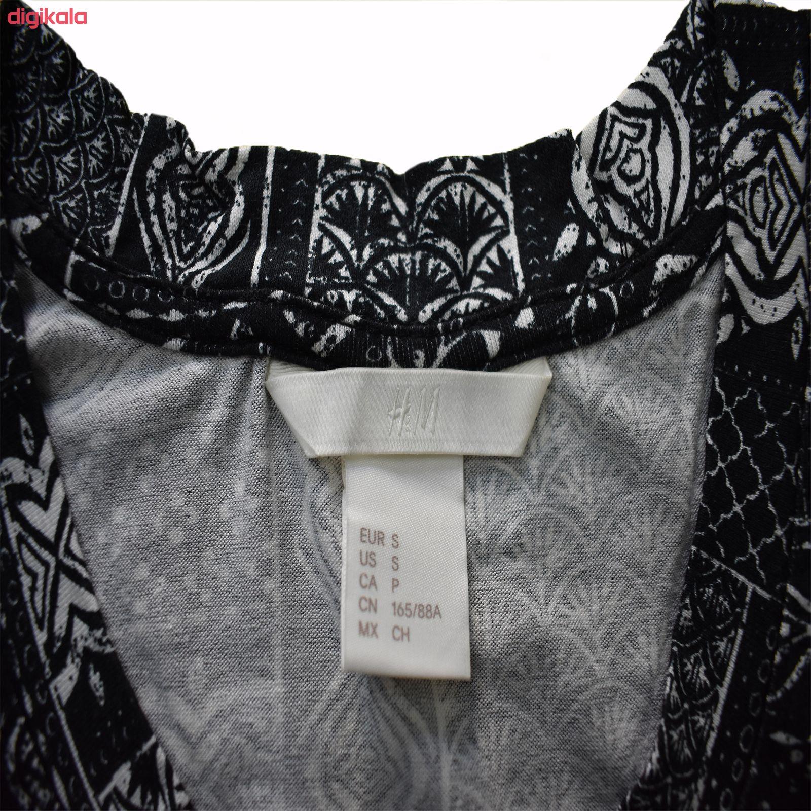 تی شرت زنانه اچ اند ام مدل h1058 main 1 2