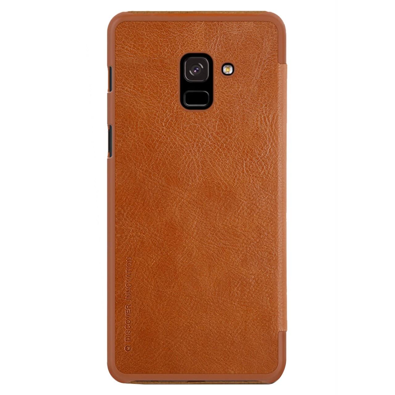 کیف کلاسوری نیلکین مدل Qin مناسب برای گوشی موبایل سامسونگ Galaxy A8 Plus 2018